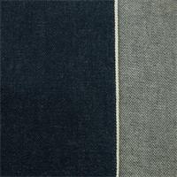 *1 1/8 YD PC--Indigo Blue Cotton Selvedge Denim