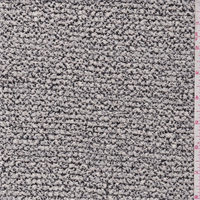 Ivory/Black Sweater Knit