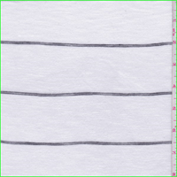 White/Black Pinstripe T-Shirt Knit