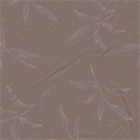 *2 3/4 YD PC--Reddish Brown Leaf Jersey Knit