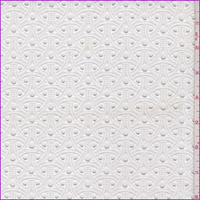 *3 3/8 YD PC--White Eyelet Lace