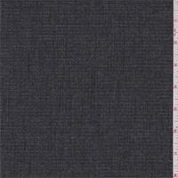 Black/Grey Heather Textured Suiting
