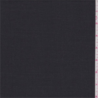 Heather Dark Charocal Lightweight Wool Suiting