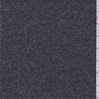 Dark Grey Wool Blend Jacketing