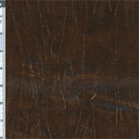 *2 1/2 YD PC--Brown Timber Sparkle Vinyl Home Decorating Fabric