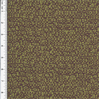 *5 YD PC--Chimers Olive Green/Brown Home Decorating Fabric