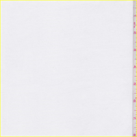 White Ponte Double Knit