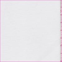 White Rayon Jersey Knit