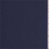 Dark Ink Blue Twill Back Satin