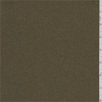 Olive Green Melton Wool Outerwear