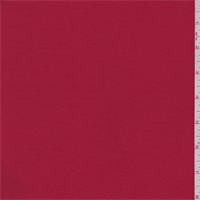 Rouge Red Polyester Blend Suiting