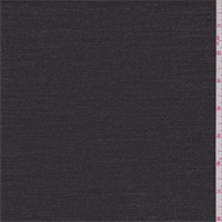 Heather Charcoal Polyester Blend Suiting