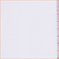 *5 YD PC--White Polyester Lining