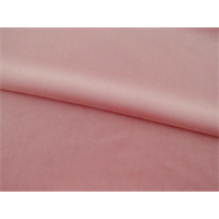*2 YD PC--Ballet Pink Stretch Velvet