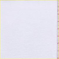 *2 3/4 YD PC--White Cotton T-Shirt Knit