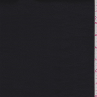 Slate Black Stretch Poplin