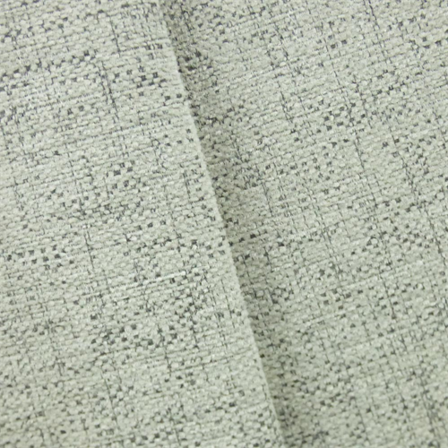 Pigeon White Tech Texture Chenille Home Decorating Fabric Dfw52172