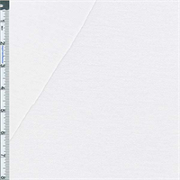 *2 1/4 YD PC--White Baby French Terry Jersey Knit