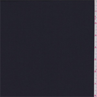 *3 YD PC--Dark Navy Polyester Blend Suiting