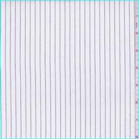 White/Black Pinstripe Shirting