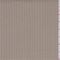 Caramel Brushed Stripe Cotton