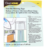 *1 PKG--Iron-On Shirring Tape 1-1/8X6yd-