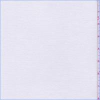 White Mini Rib Double Knit