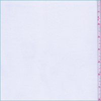 *2 3/4 YD PC--White Polyester Poplin