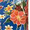Blue Hibiscus Oilcloth