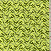 Neon Yellow Novelty Knit