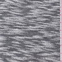 Black/White Boucle Sweater Knit