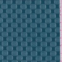 Teal Blue Crochet Lace