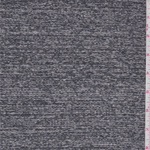 Charcoal grey space dye sweater knit 65677 fashion fabrics for Space dye knit fabric by the yard