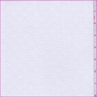 White Clip Dot Lawn