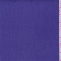 *3 3/8 YD PC--Purple Pansy Cotton Twill