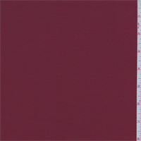 Garnet Red Rayon Jersey Knit