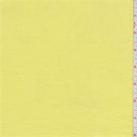 Lemon Yellow Jersey Knit