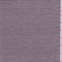 Heather Mauve Rayon Jersey Knit