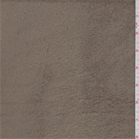 Cocoa Brown Polyester Fleece