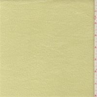 Soft Yellow Polyester Fleece