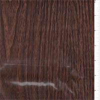 *5/8 YD PC--Walnut Woodgrain Oilcloth