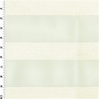 *3 YD PC--Designer Off White Outdoor Terry Stripe Decorating Fabric
