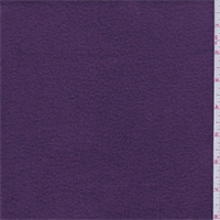 Plum Polyester Fleece