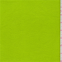 Lime Green Polyester Fleece