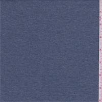 Heather Smoky Blue Rayon Jersey Knit