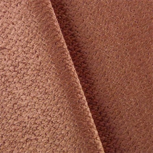 Rose Pink Chenille Upholstery Fabric