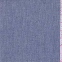 Vintage Blue Linen Blend Shirting