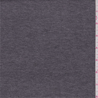 Heather Charcoal Cotton Blend T-Shirt Knit