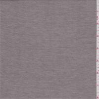 Heather Brown Cotton Blend T-Shirt Knit