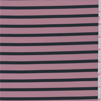Rose/Black Stripe Swimwear